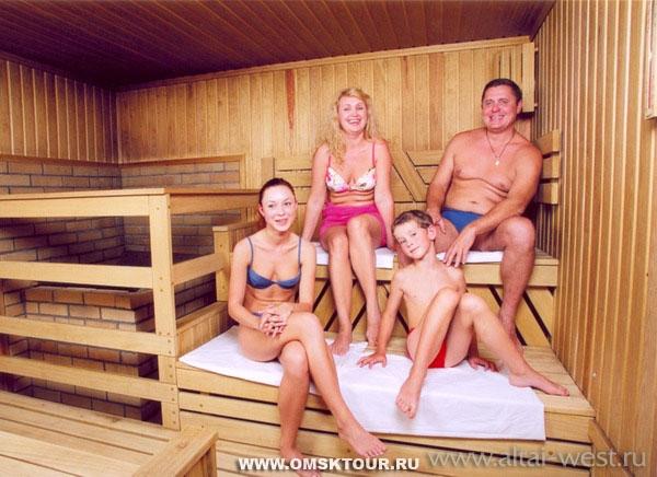 фото купающихся в бане